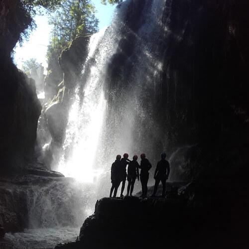 Canyoning Noa Guides les cascades des gorges de la Langouette
