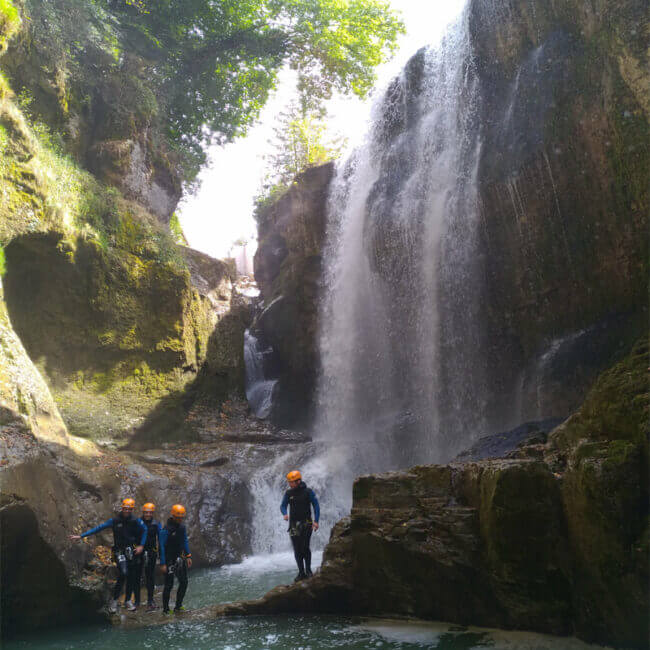 Noa Guides Canyoning Doubs Jura 2