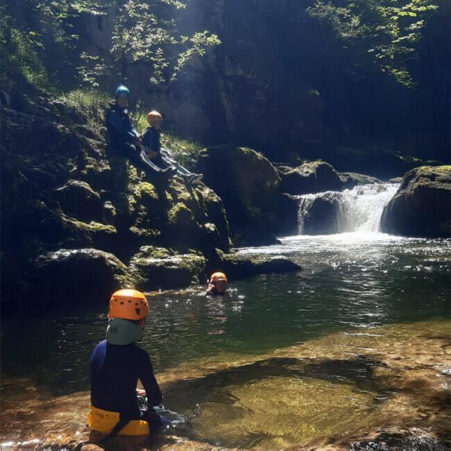 Noa Guides Canyoning Doubs Jura 6