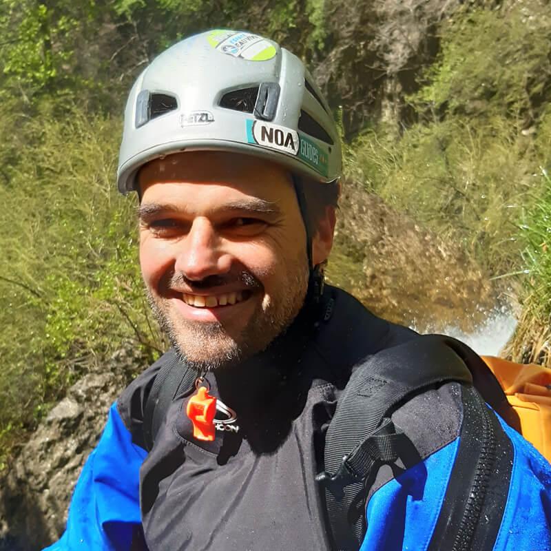Guy moniteur et guide chez Noa Guides